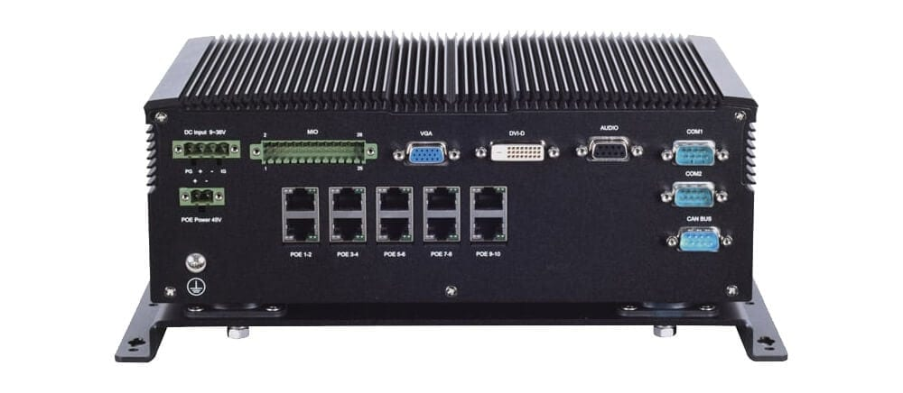 Lanner's V6S Becomes First Milestone XProtect Verified 10x PoE Bus NVR with Certified LTE Connectivity
