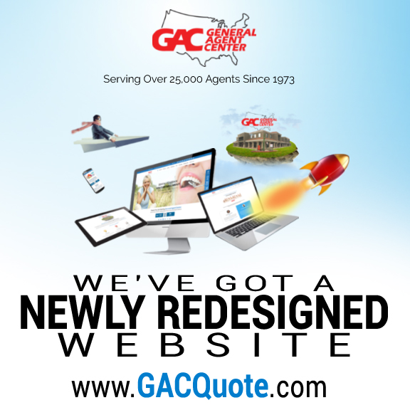 General Agent Center Inc. Announces Launch of Newly Redesigned Website GACQuote.com