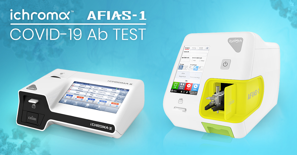 Immunostics Launches Two Rapid COVID-19 Ab Test Platforms - AFIAS and iChroma COVID-19 Ab Tests