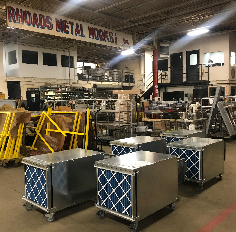 Rhoads Metal Works Creates Clean Air for Hospitals