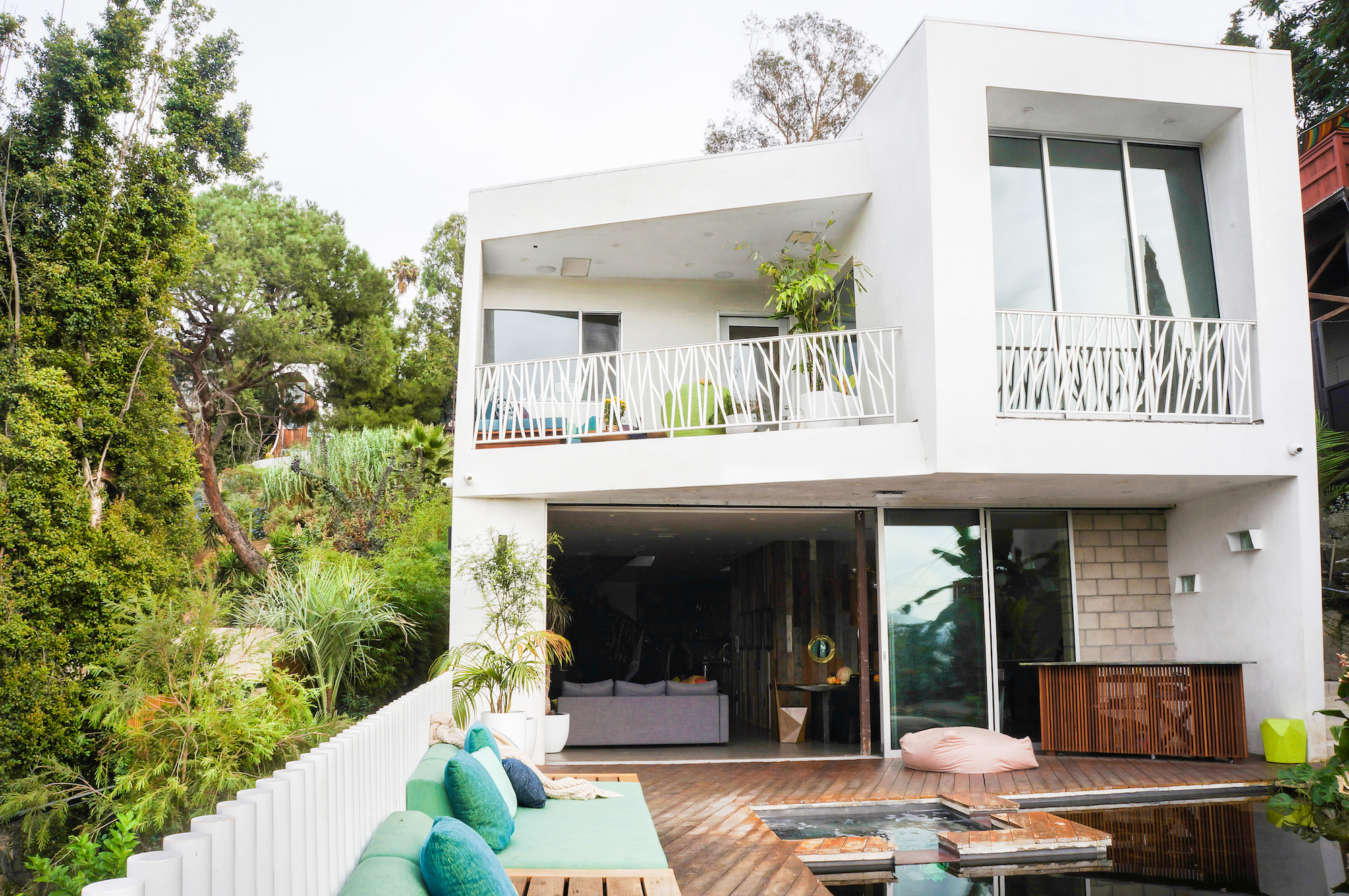 Modern Sustainability Redefined in Hillside Silver Lake Home from office42 Architecture and Russell Wightman Design