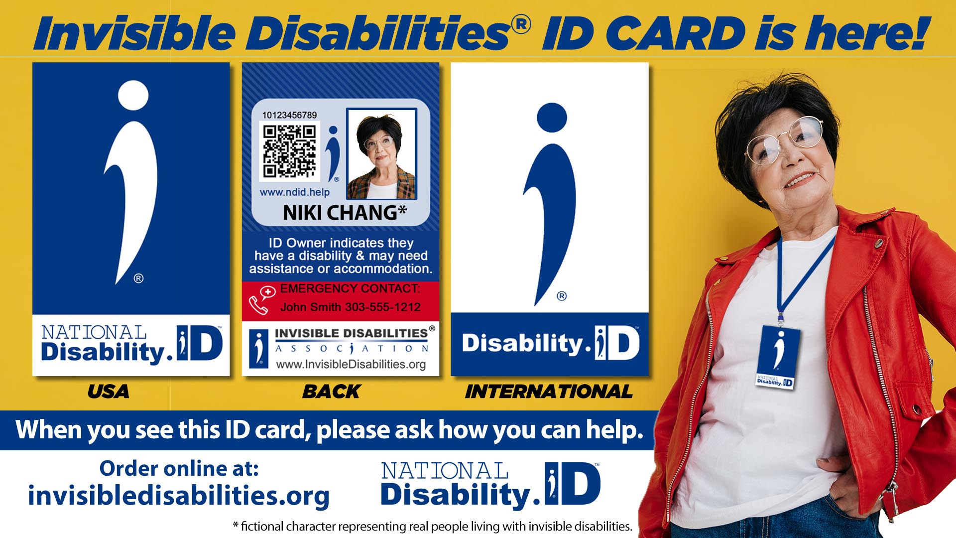 Voluntary Disability ID Card Provides Help