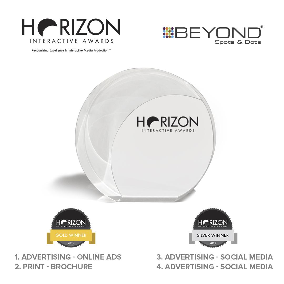 Beyond Spots & Dots Wins Four Horizon Interactive Awards
