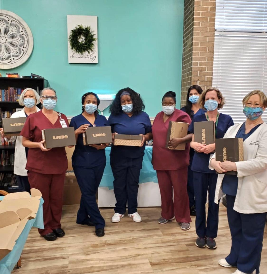 LAMO Footwear Takes a Charitable Step with HOLLIBLU Nurses Network