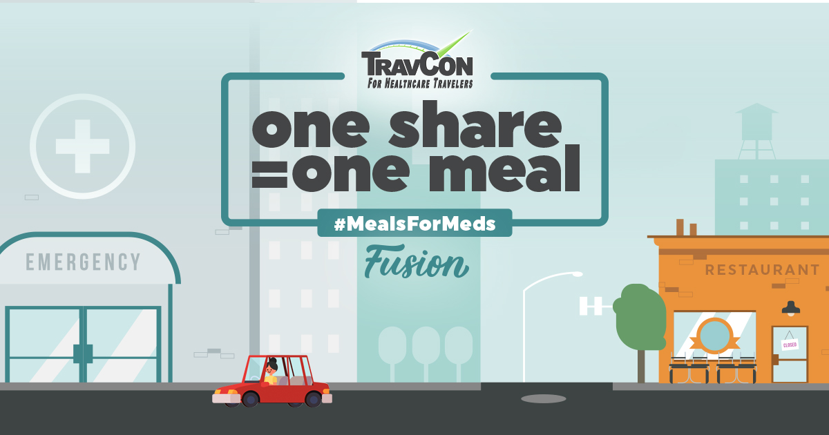 TravCon and Fusion Medical Staffing Help Bring Communities Together with the Meals for Meds Movement
