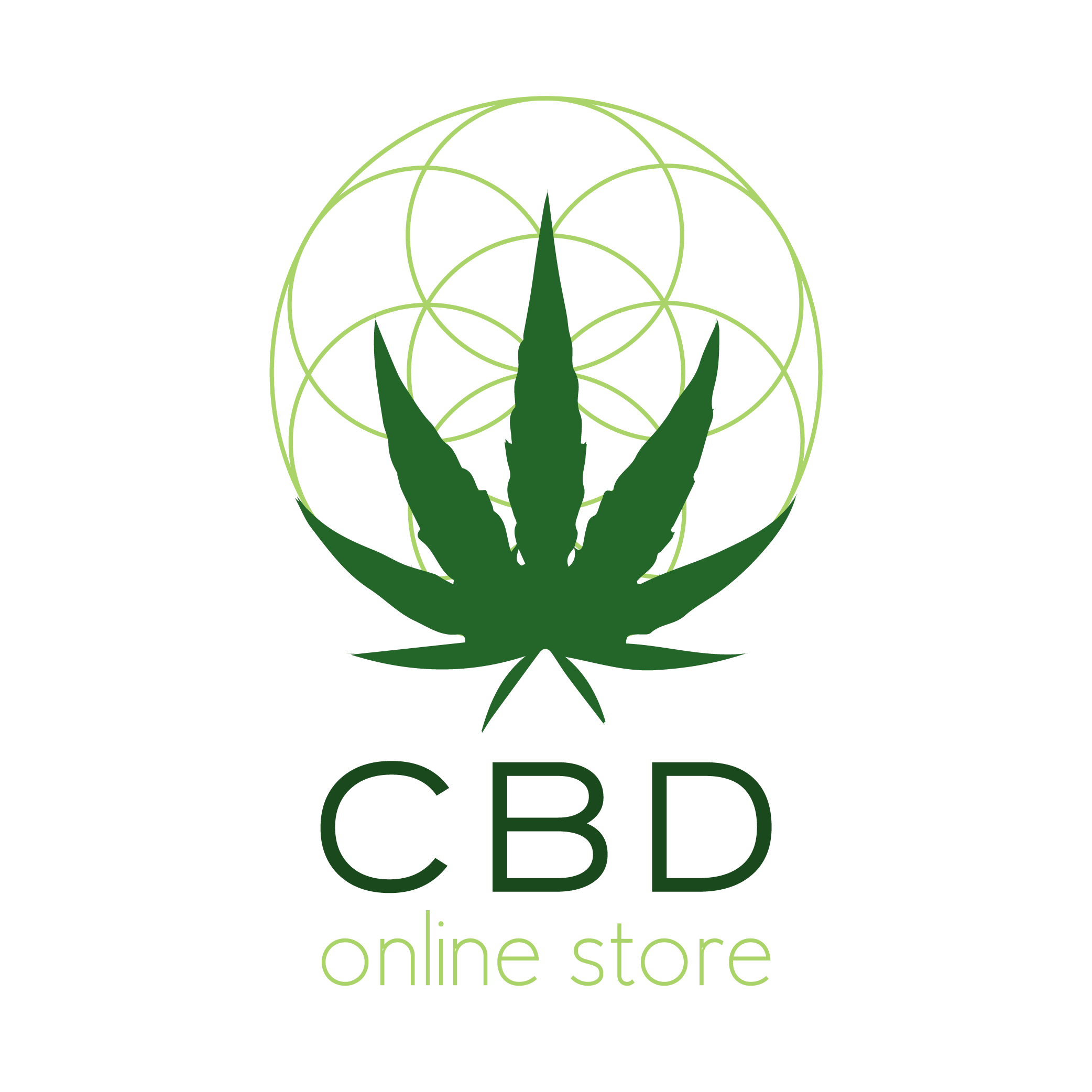 CBD Online Store Signs with Bloom Hemp