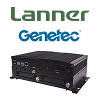 Lanner's V6S Rugged NVR Provides a Unified Platform for Genetec's Onboard Fleet Monitoring Solution
