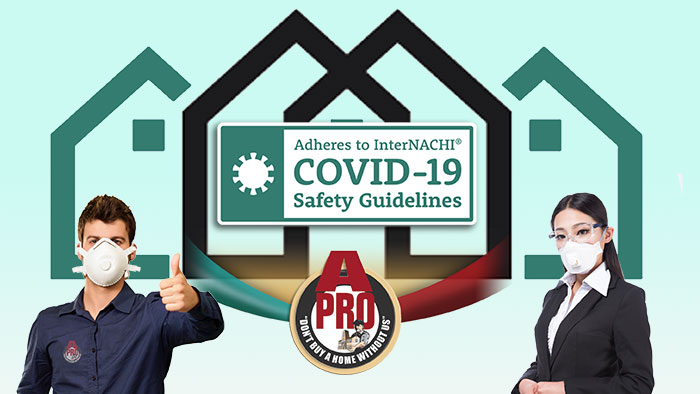 A-Pro Home Inspection Adopts Safety-Conscious COVID-19 Guidelines to Protect Home Buyers and Sellers