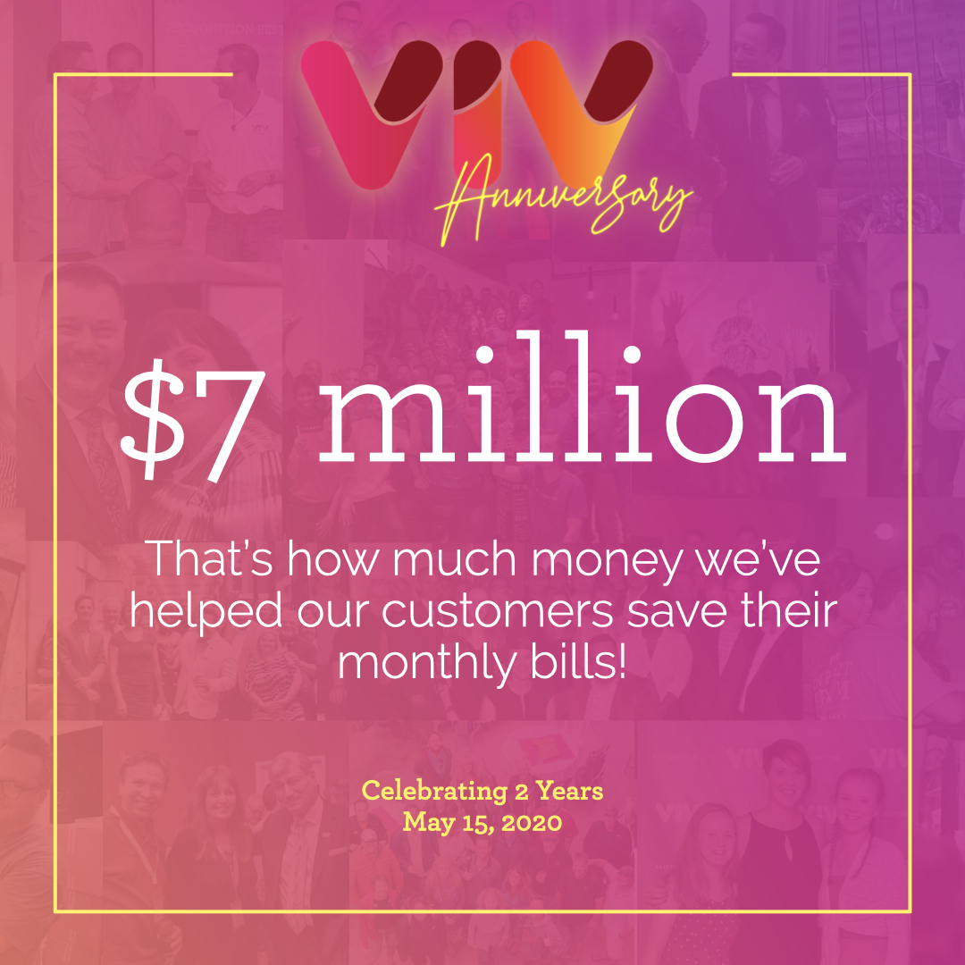 Viv Reaches $7 Million in Customer Savings as It Closes Its Second Year of Business