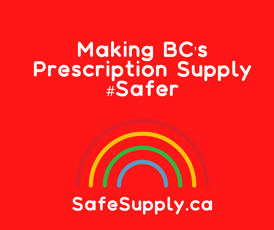 Infographic by the Canadian Association for Safe Supply Educates BC About Drug Safety Concerns