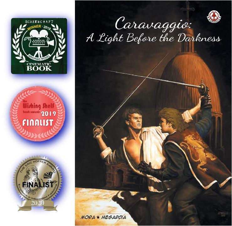 Award-Winning Caravaggio Graphic Novel Gains Global Distribution