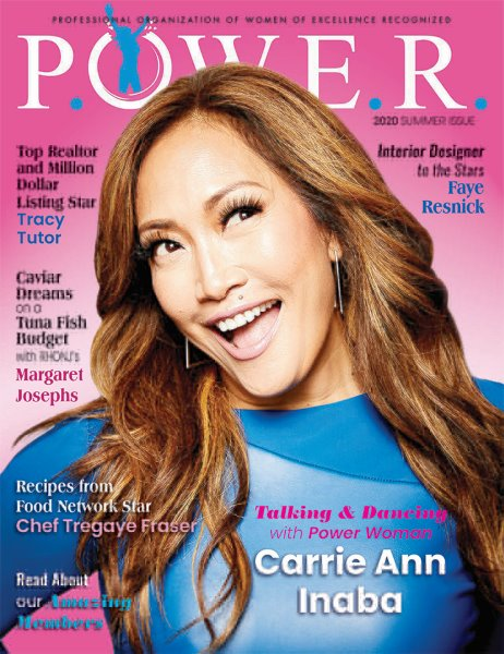 POWER Magazine's Summer 2020 Issue Highlights Amazing Women Who Inspire and Empower During These Difficult Times