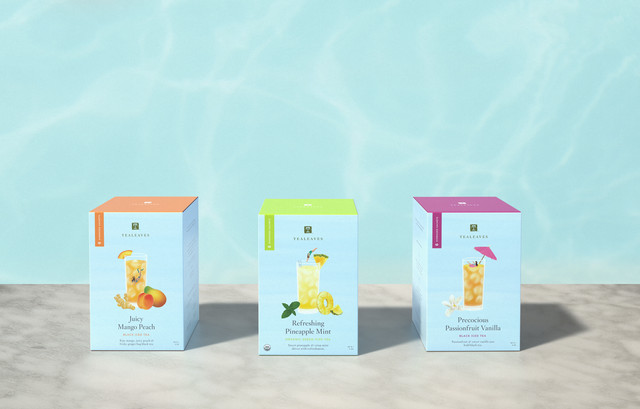 TEALEAVES Unveils New Compostable Iced Tea Sachets: Better for You and the Planet