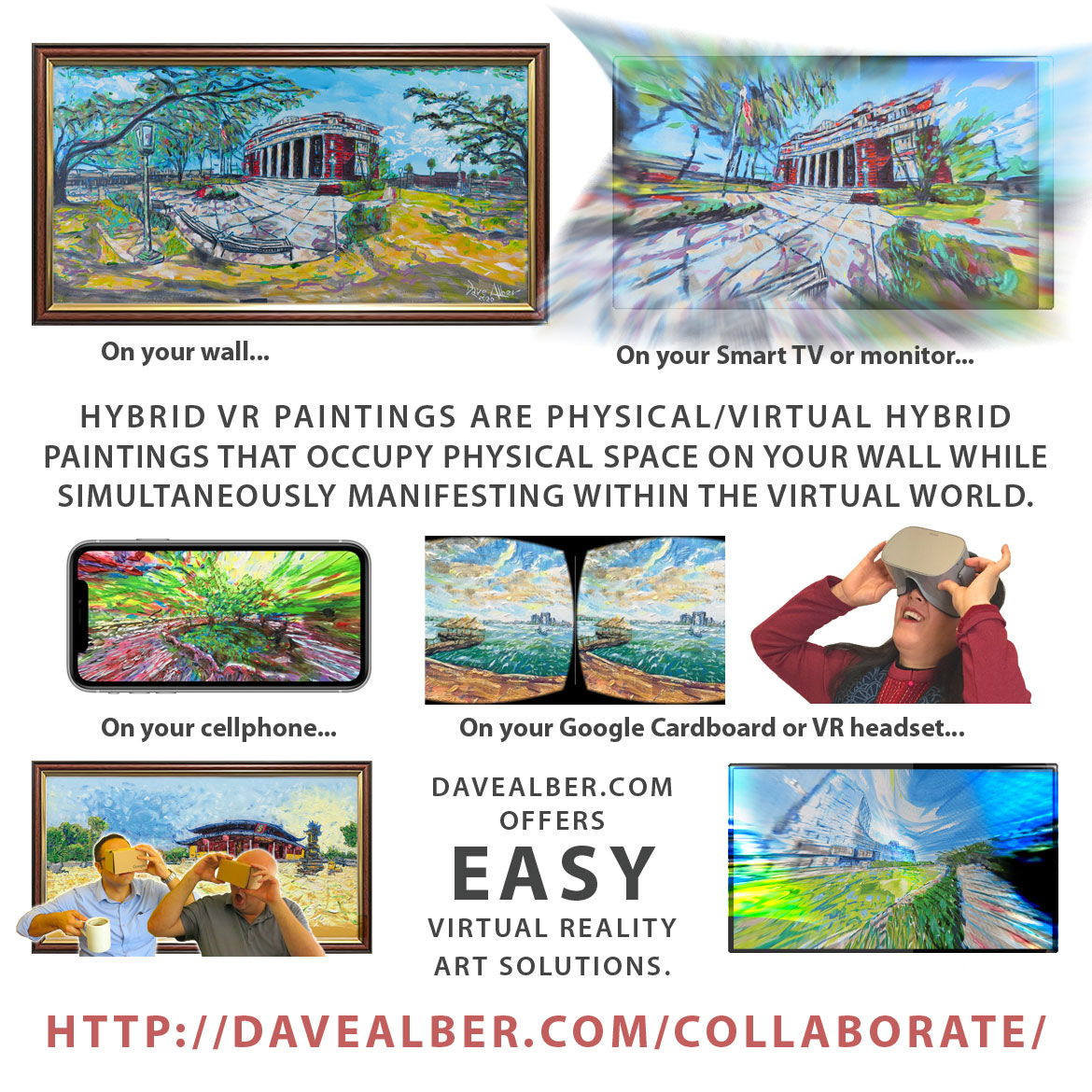 Hybrid VR Paintings Allow Art Businesses to Thrive with Virtual Reality Galleries and Fully Immersive VR Paintings