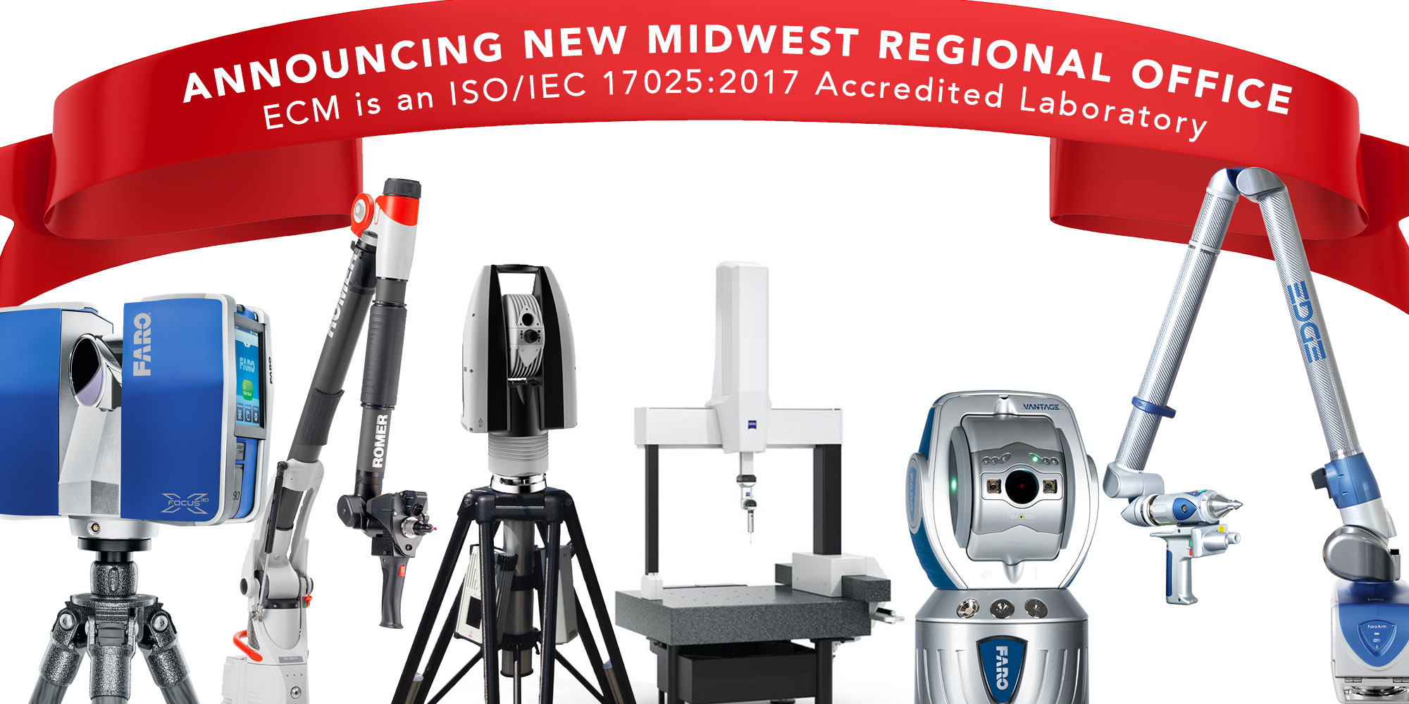 ECM Global Opens Calibration Office in Wixom, Michigan: Expanding Calibration and Services Division in Midwest