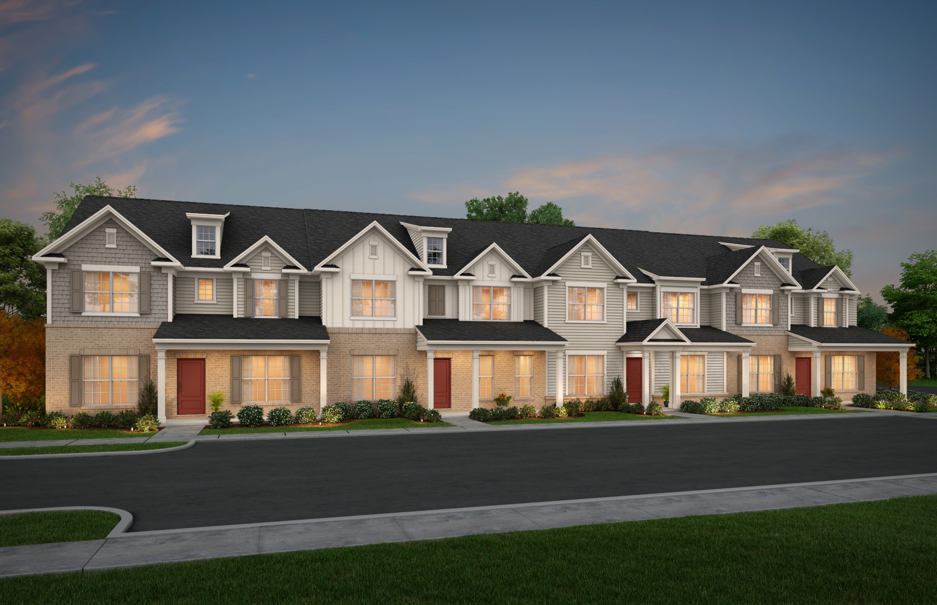 High Demand Forecasted for New Luxury Townhomes at Peachtree City's Everton