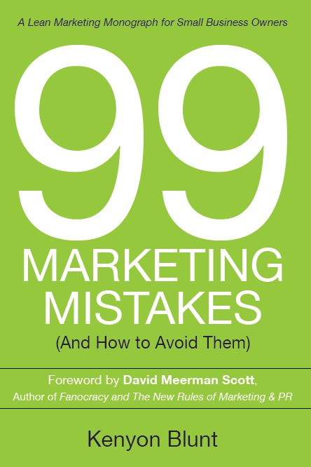 New Book on Small Business Marketing from Kenyon Blunt