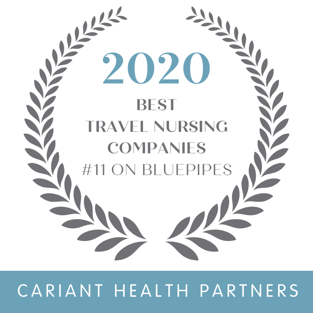 Cariant Health Partners Named a Top Travel Nursing Company