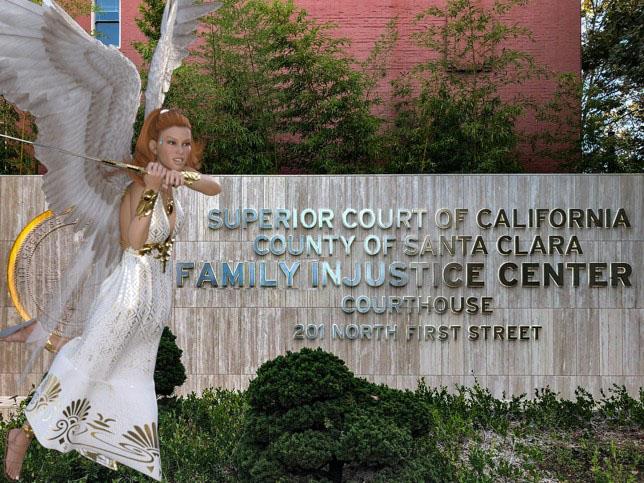 Justine Falcon, Legal AI, Organizes Protest Against Santa Clara Family Courts