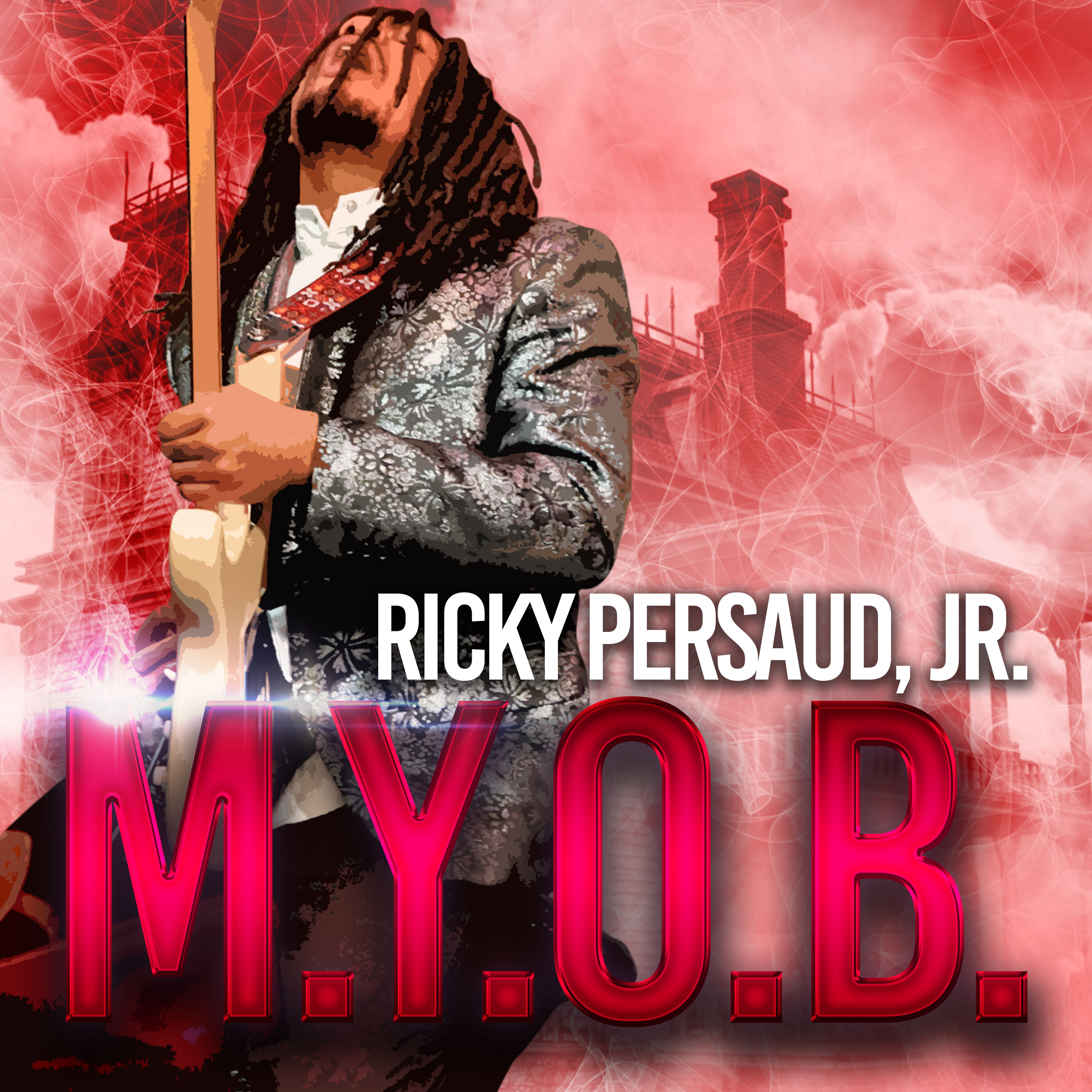 """Multi-Intrumentalist Ricky Persaud, Jr. Back with New Album; Follow Up to 2019 EPs Pursuit of Happiness and Apocalypse, First Single """"M.Y.O.B."""" Out Now"""