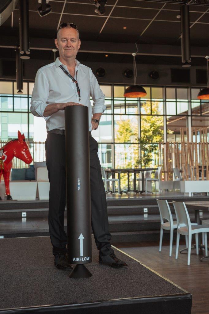 World First UV-C Air Disinfection Event Venue in Belgium