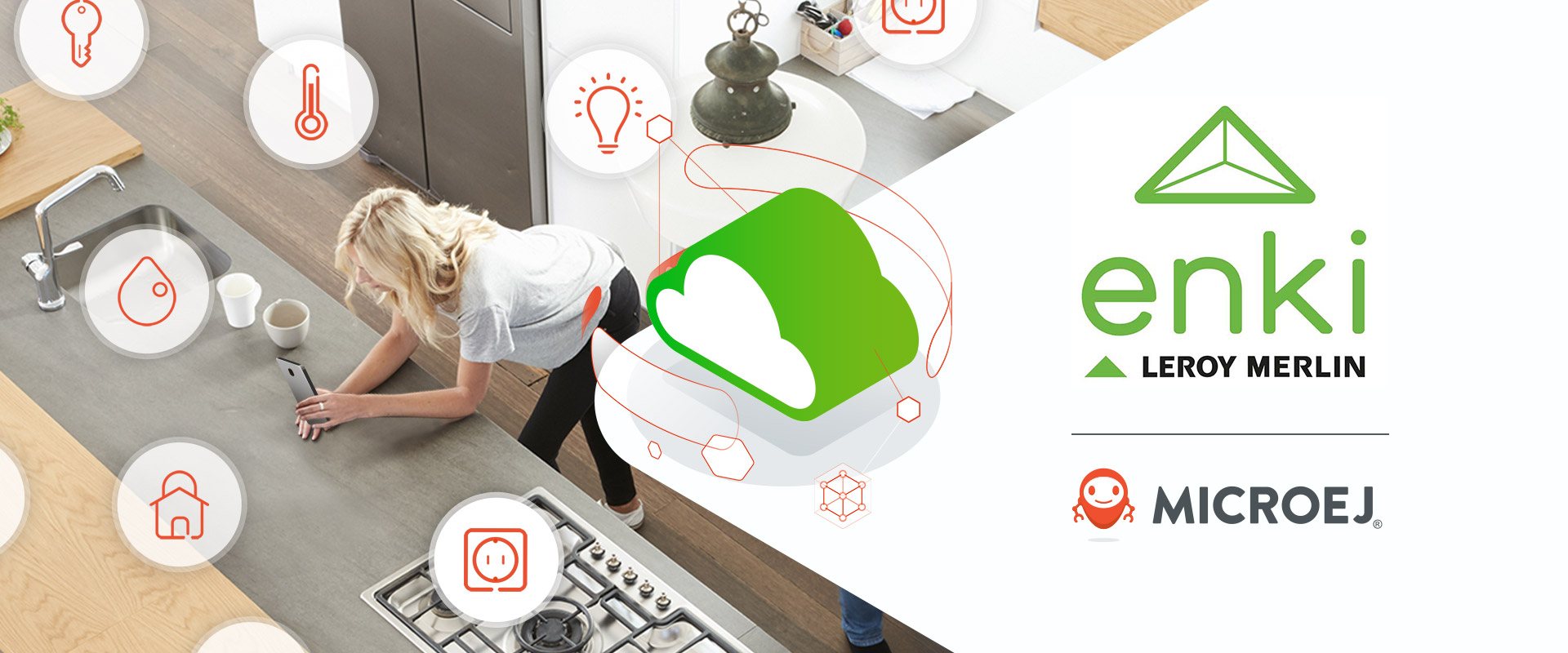 Enki by Leroy Merlin Scales Up Smart Home Ecosystem Integration Thanks to MicroEJ Solutions