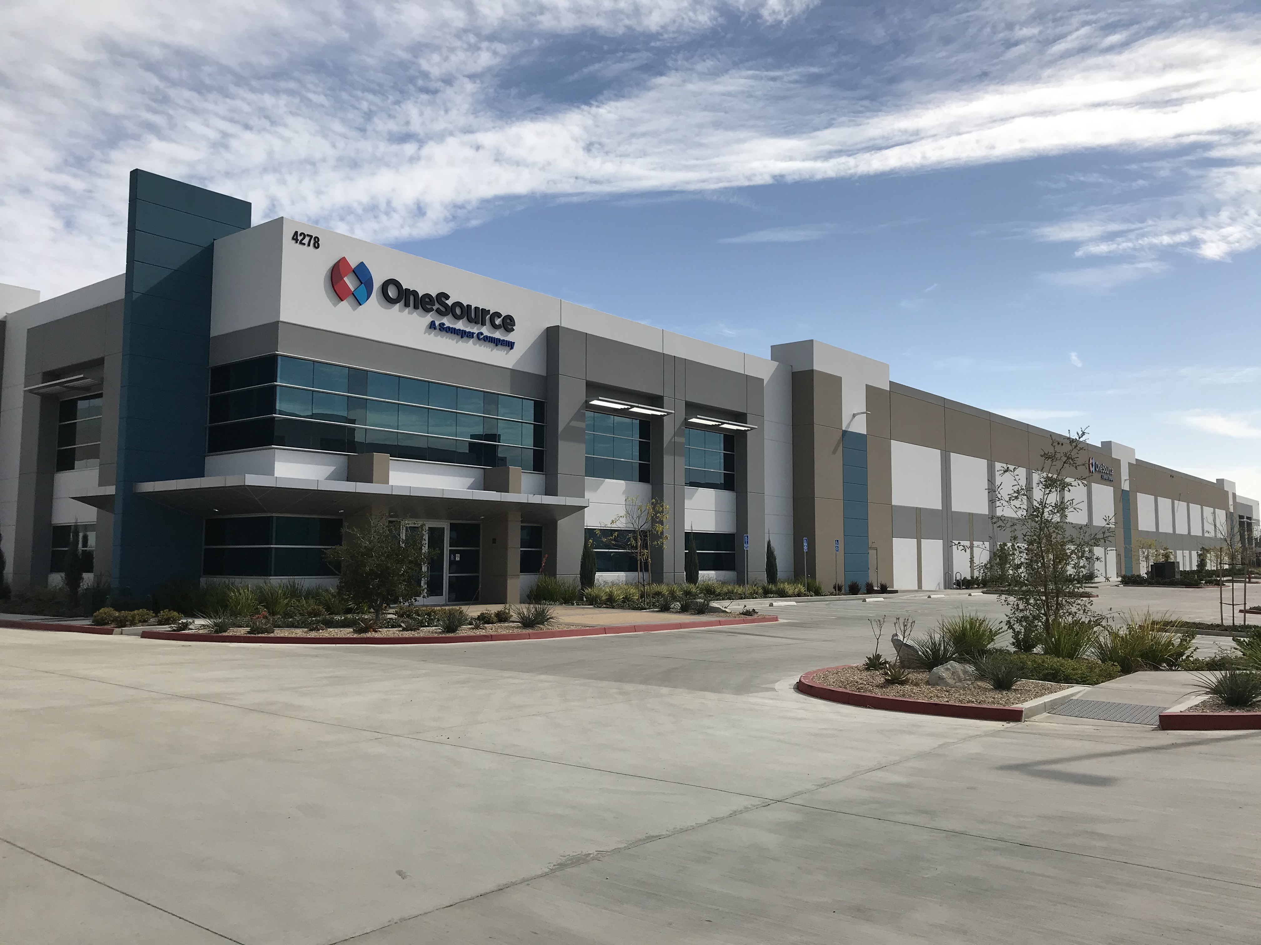 OneSource Moves Central Distribution Center and Offices to Fullerton, CA