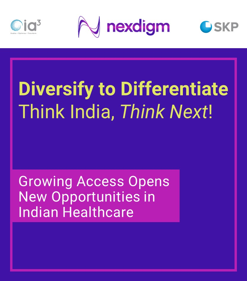 Senior Healthcare Policy and Industry Experts Explore Opportunities in the Indian Healthcare Sector, in the Webinar Hosted by Nexdigm