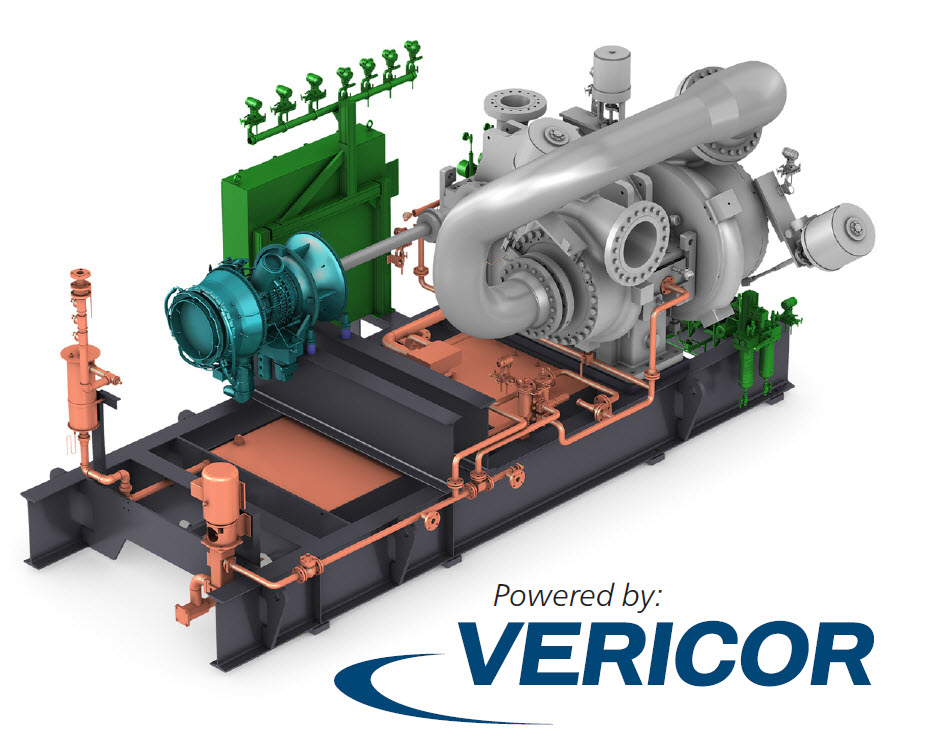 Atlas Copco Gas & Process and Vericor Power Systems Sign a Strategic Alliance to Power Integrally Geared Centrifugal Compressors and Companders™ with Vericor Gas Turbines