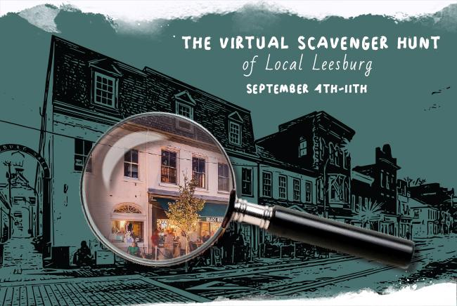 The Virtual Scavenger Hunt of Local Leesburg