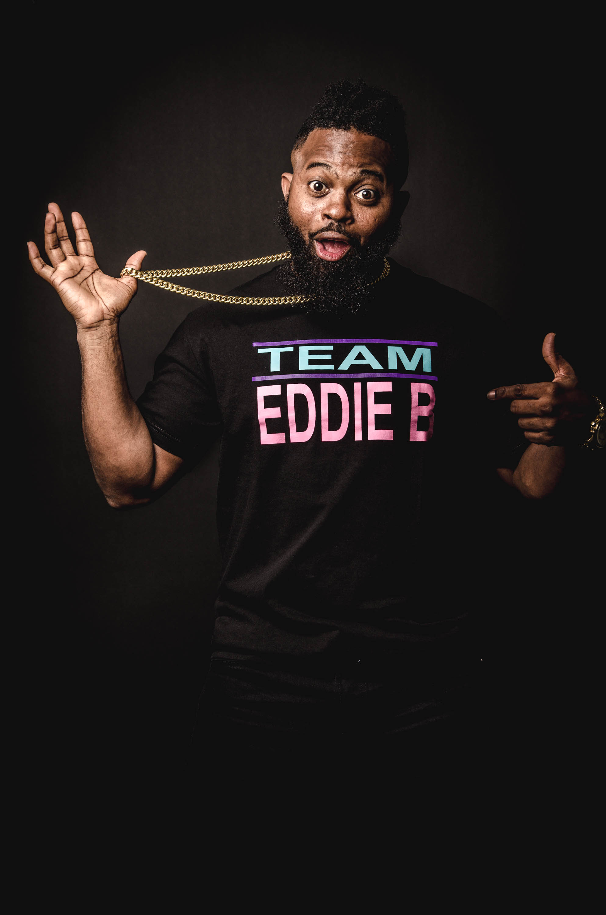 Introducing: Comedian Eddie B.