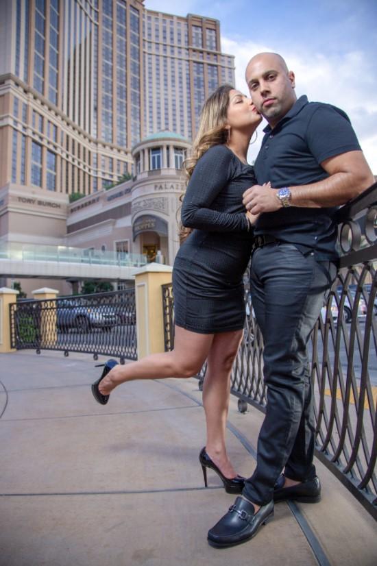 Las Vegas Portrait Photographer Christian Purdie Creates a High-End Fashion Look to Individual Portrait Sessions