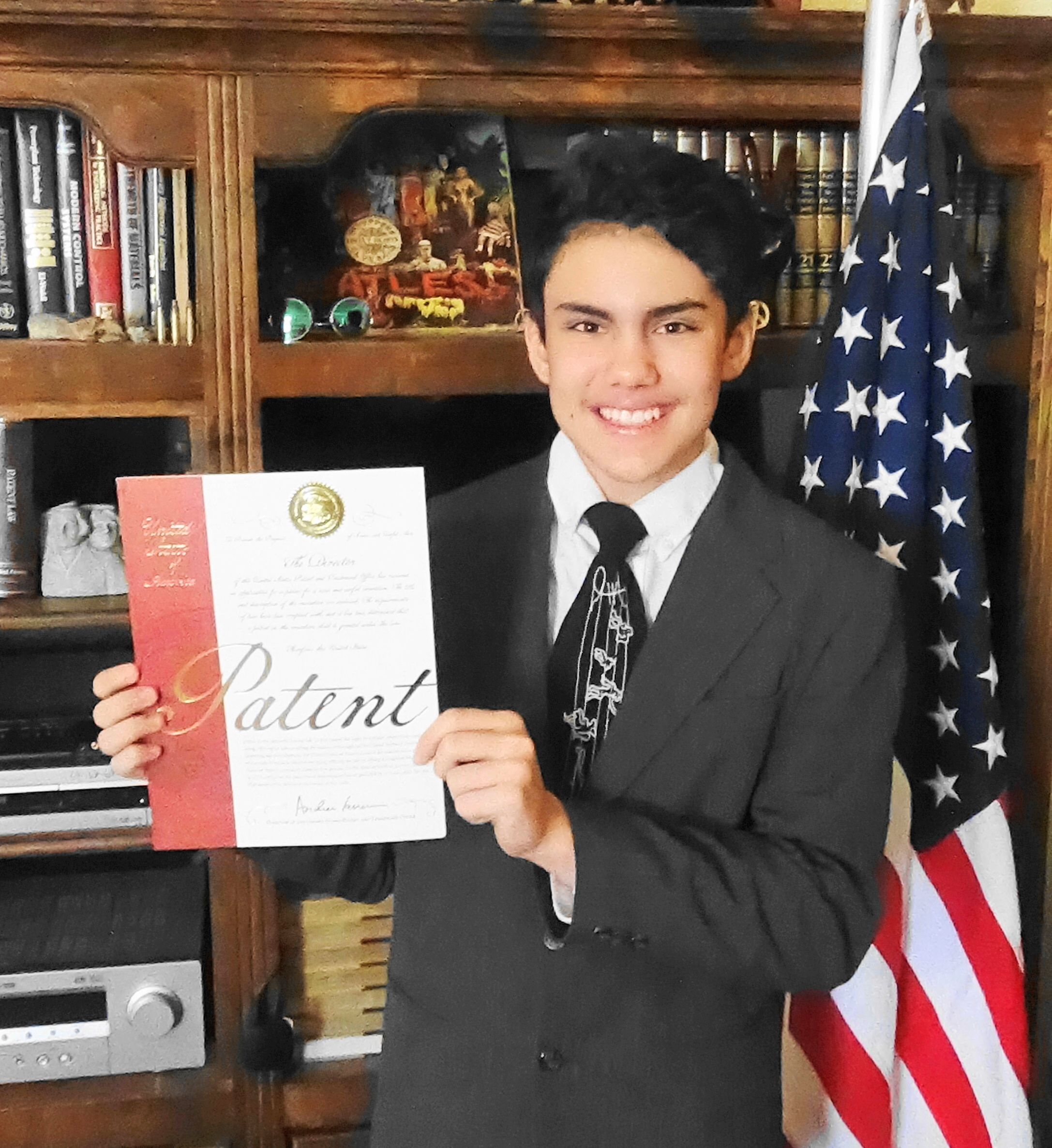 Invention News: 13-Year Old Arizona Student is Granted a United States Patent