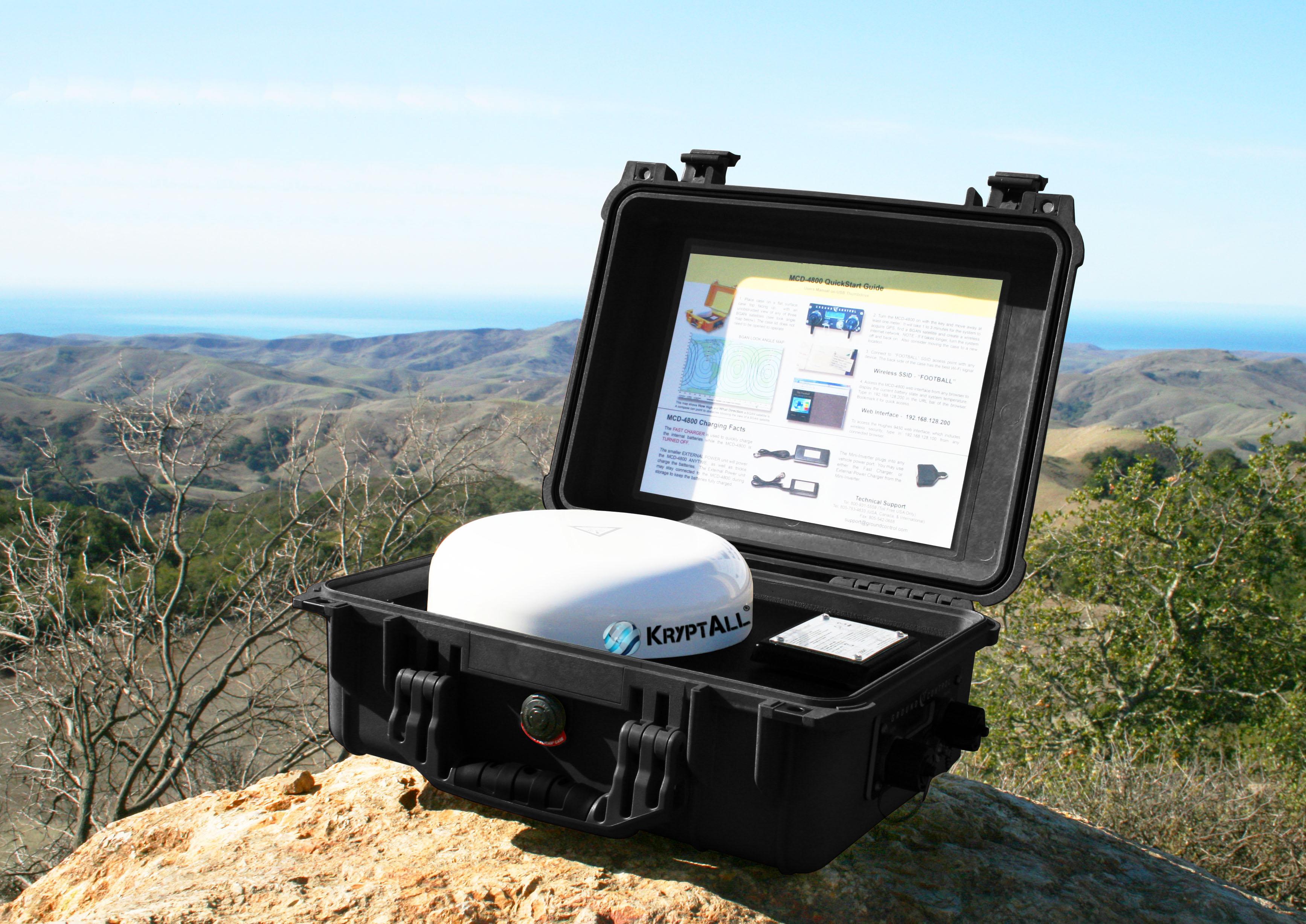 KryptAll Provides Secure Satellite Calling