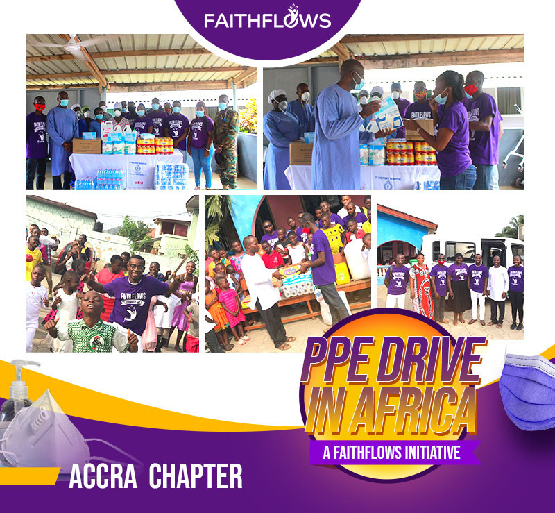 Faithflows Inc., a US-Based Christian Non-Profit Organization, Celebrates Success of COVID-19 Relief Mission and Outreach Program in Africa