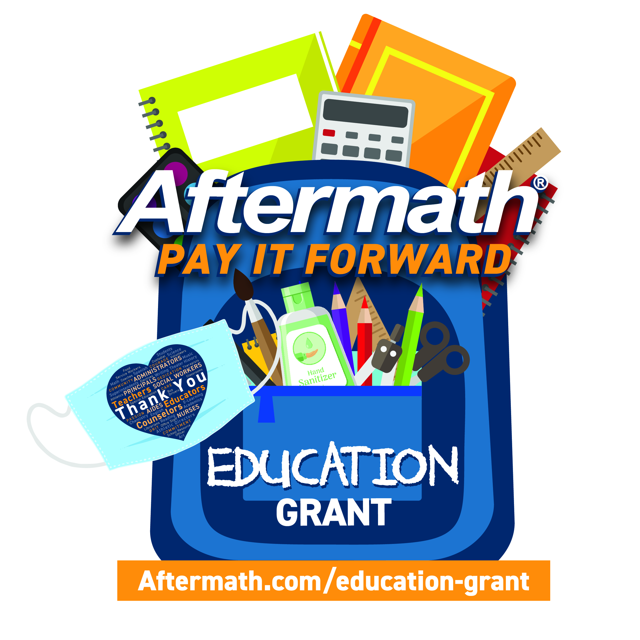 Aftermath Services Launches Pay It Forward Education Grant, Gives Back to Teachers During Pandemic