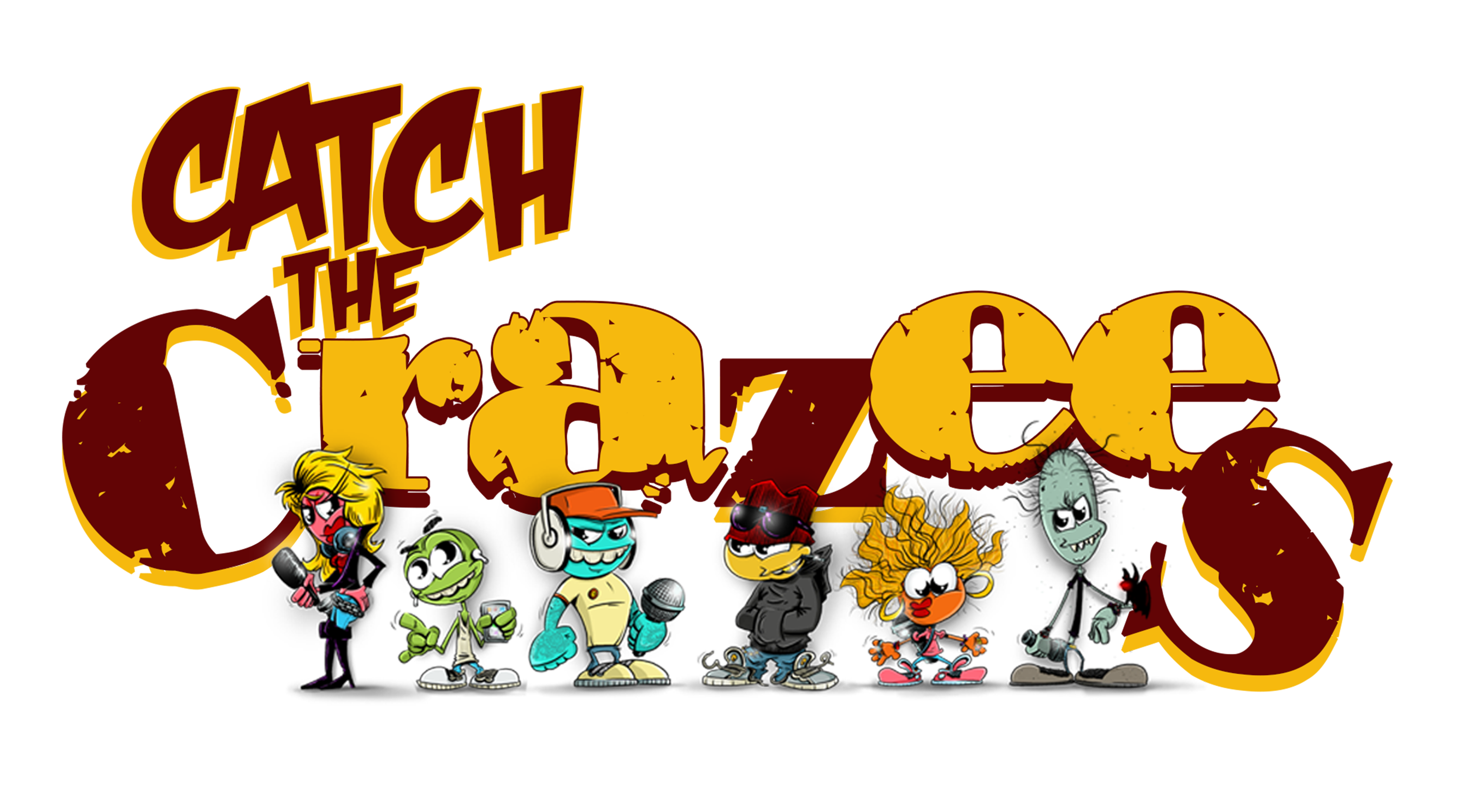 Crazee Comics Launches First Kickstarter for New Comic Series Catch The Crazees
