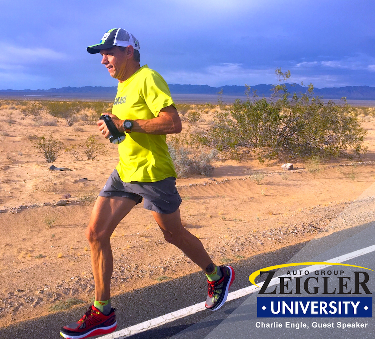 Latest Installment of Zeigler University Guest Speaker Series to Include Global Ultra-Endurance Athlete, Charlie Engle