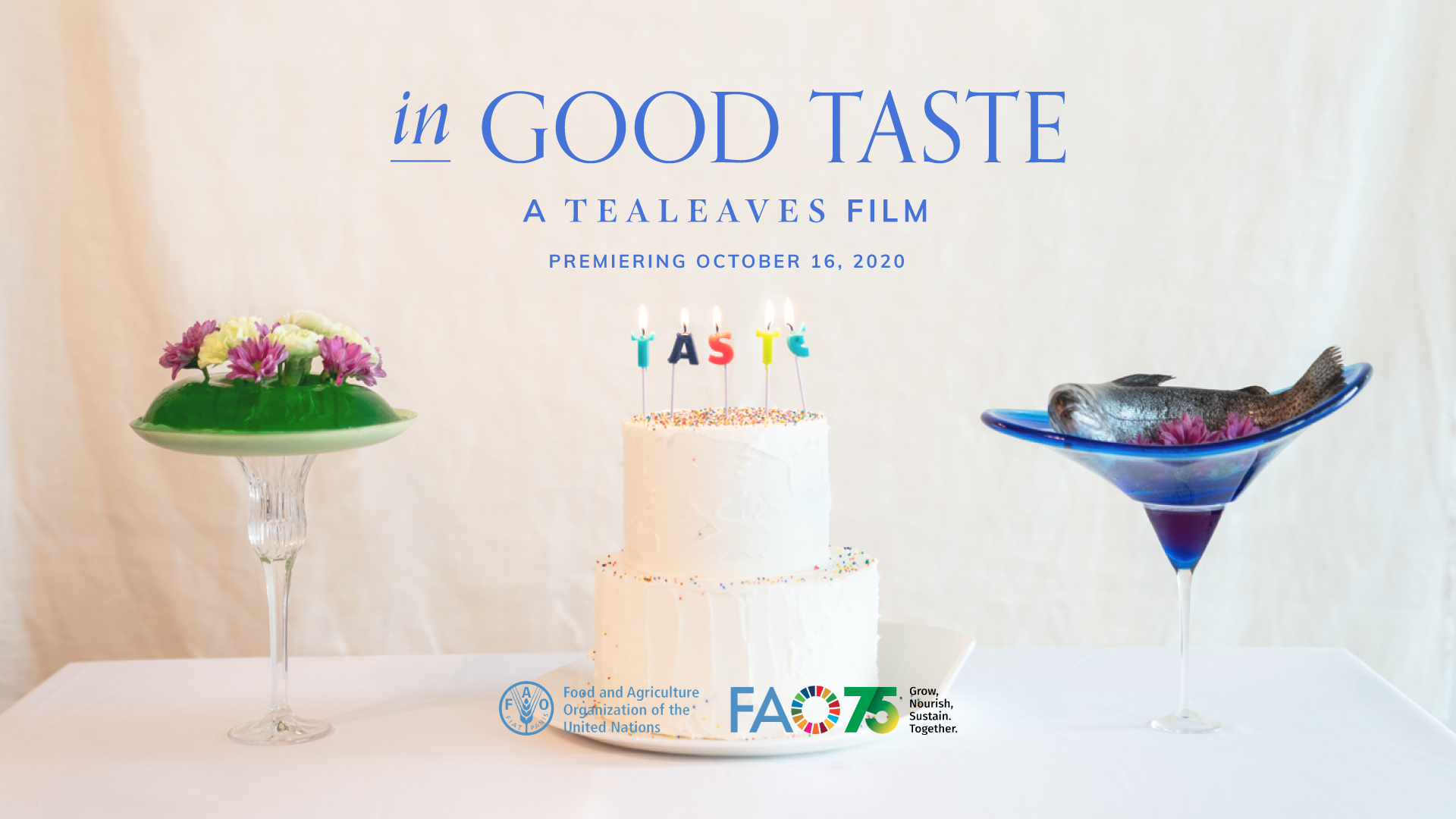 """In Good Taste"" Documentary Questions the Future of Food for United Nations World Food Day"