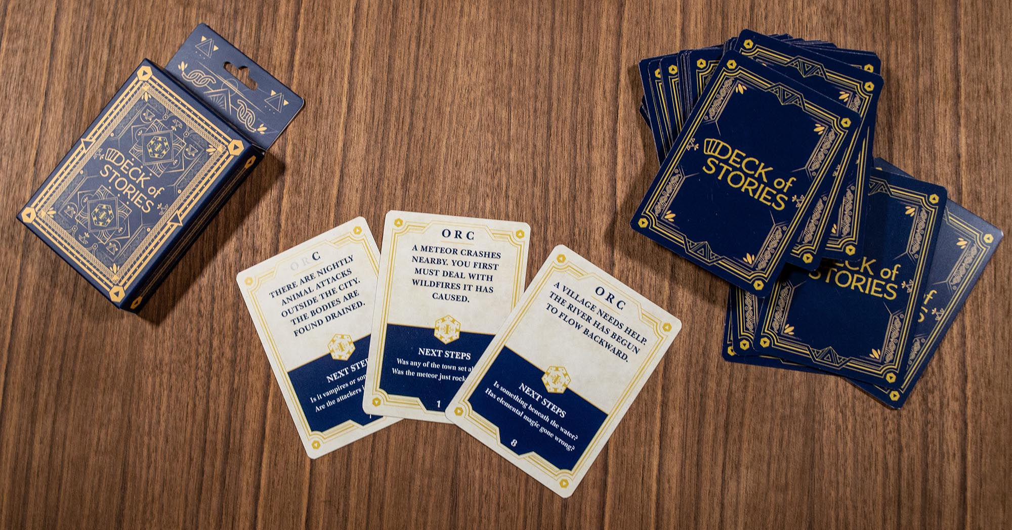 The Deck of Stories and NPC Cards Kickstarter Announced by 1985 Games