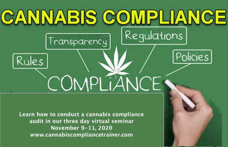 Certified Cannabis Compliance Training, Inc. Announces Three Day Compliance Audit Seminar for Cannabis Licensees Conducting in House Compliance Audits