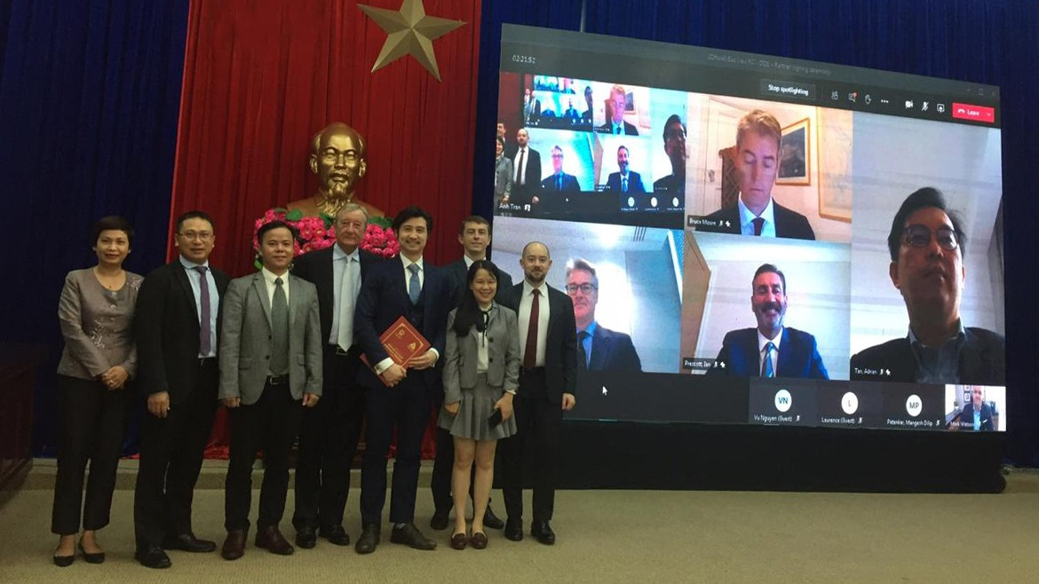 DeltaOE Presented Its Consortium Partners at the Memorandum of Understanding (MOU) Signing Ceremony for the 3200 MW LNG-to-Power Plant Project in Bac Lieu