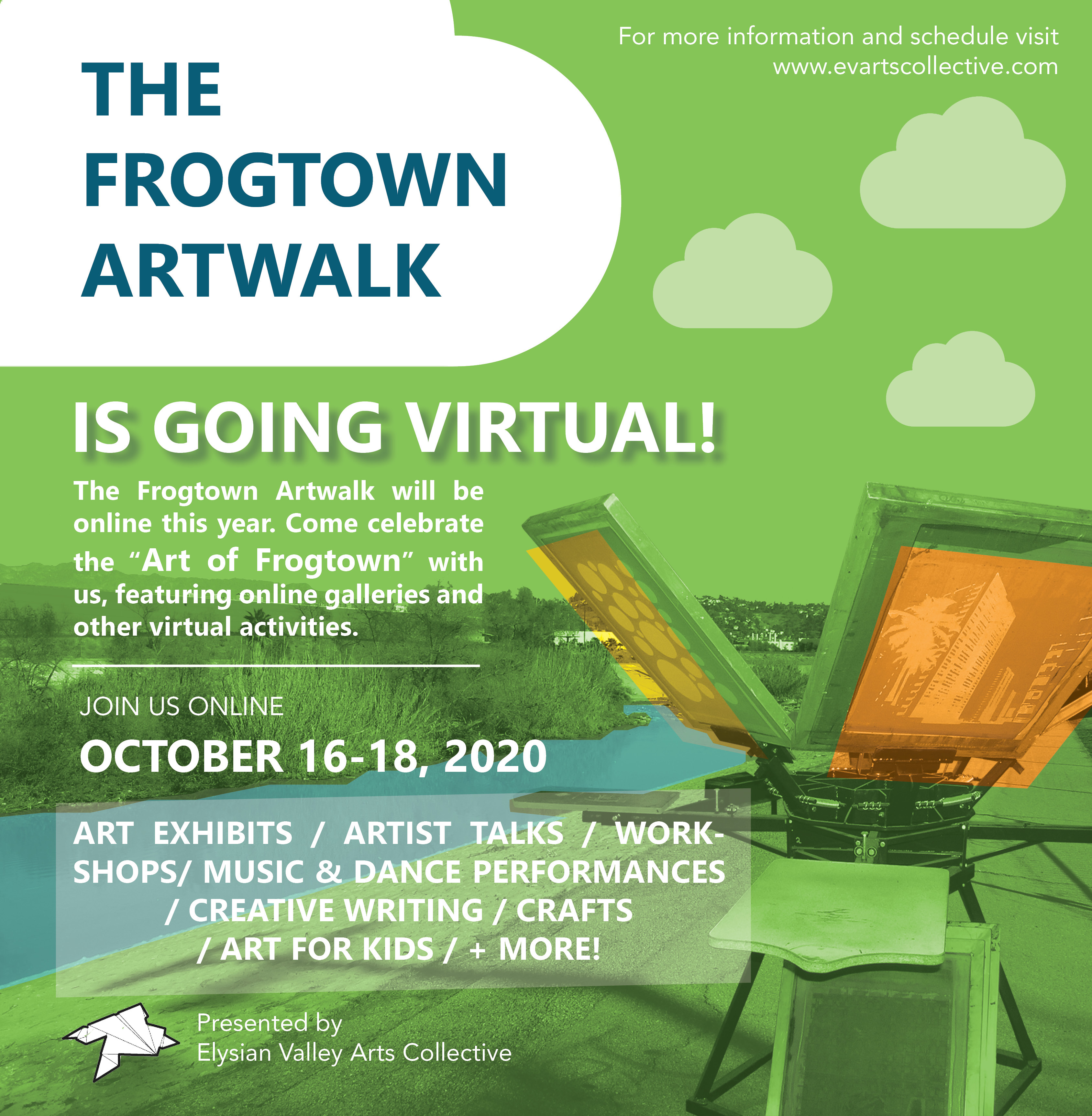 Virtual Frogtown Artwalk Offers Free Workshops, Activities and Presentations