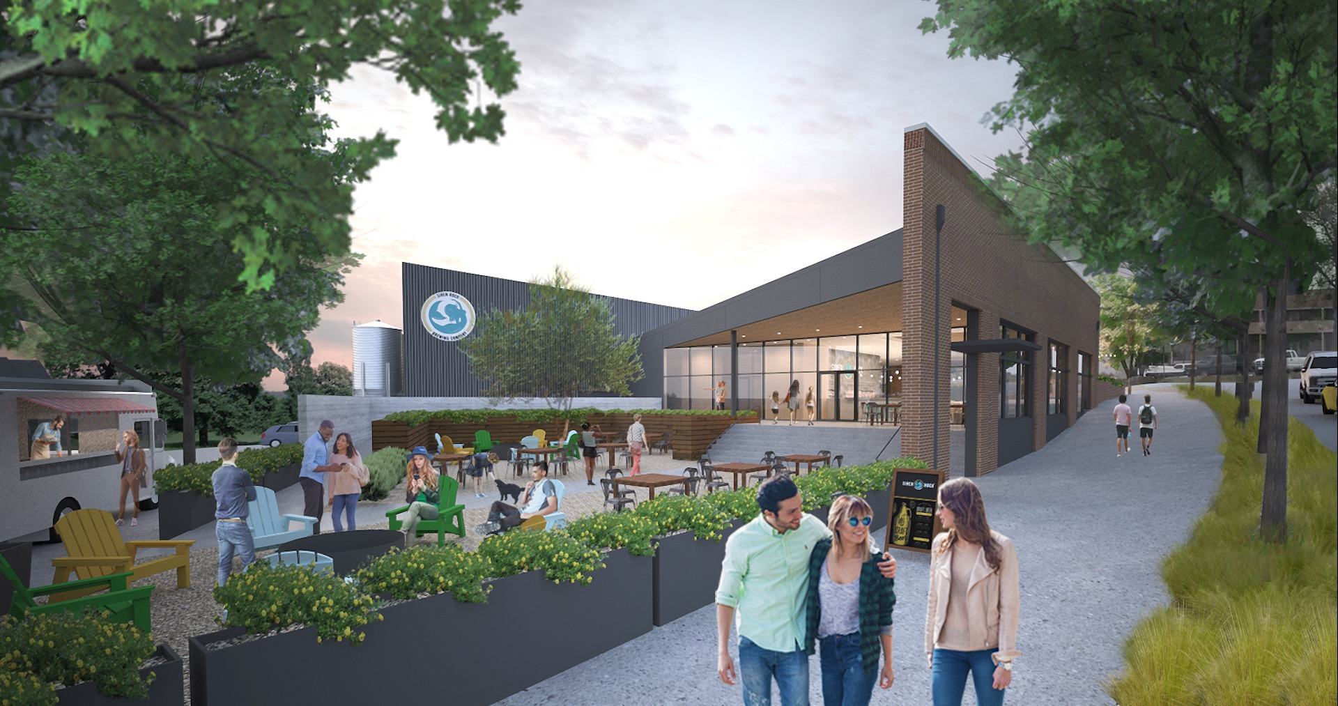 Siren Rock Announces Vertical Construction Phase of Rockwall, Texas New Brewing Facility