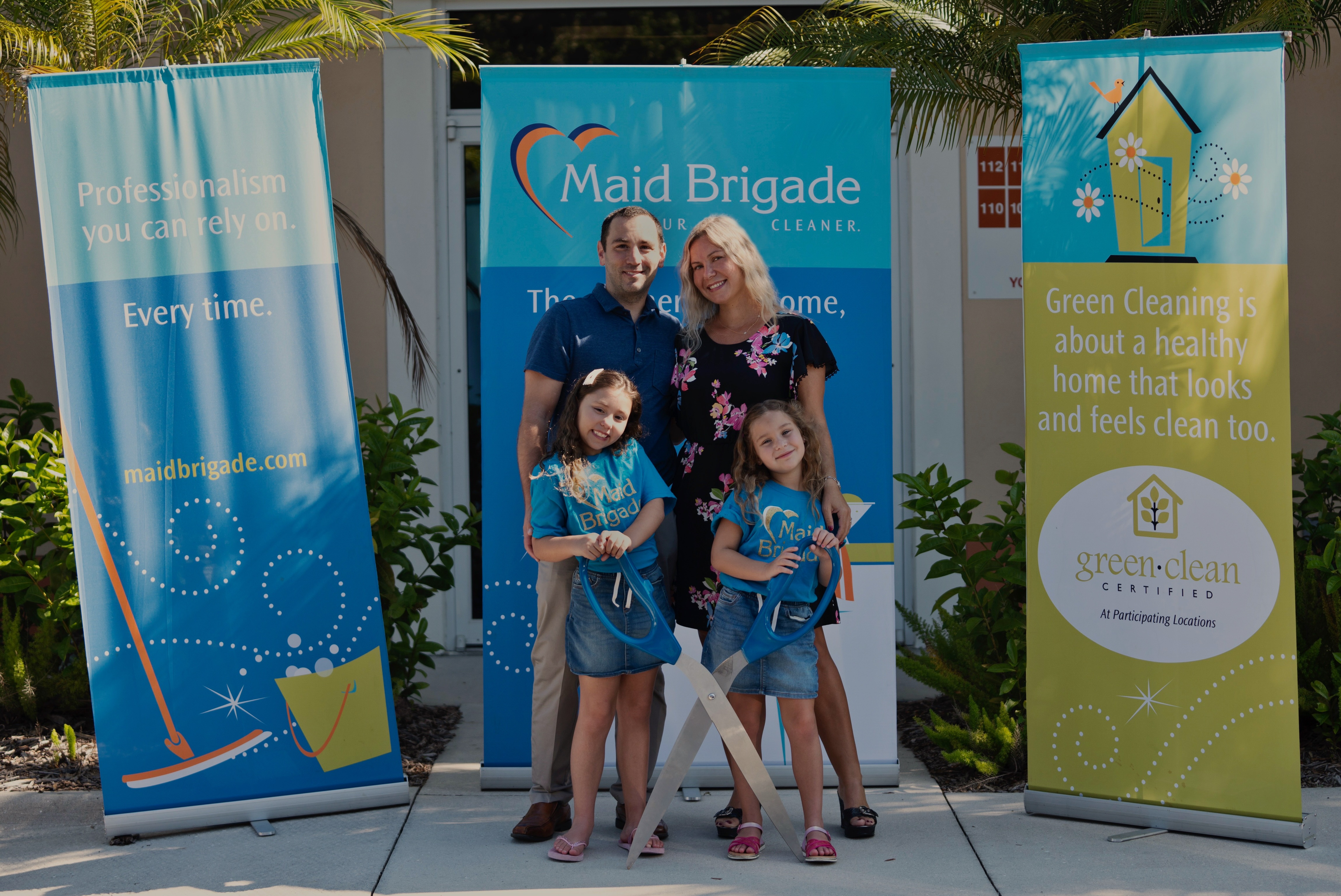 Maid Brigade Celebrates Grand Opening in Lakewood Ranch, FL