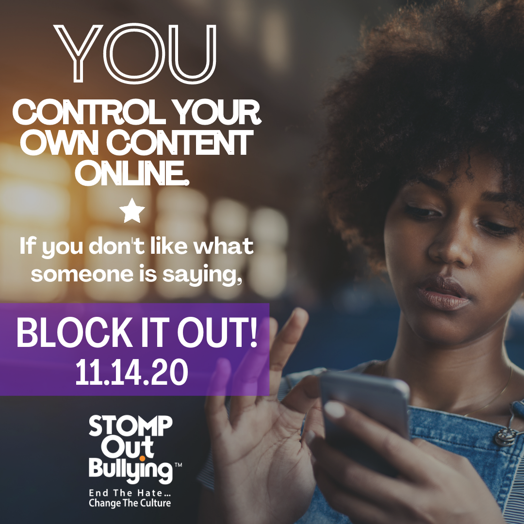 STOMP Out Bullying Celebrates Fourth Annual National Block It Out Day, Encouraging Students to Empower Themselves Online