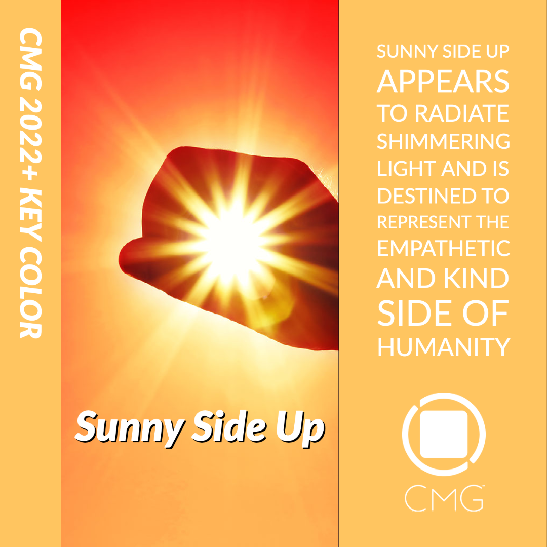 Color Marketing Group® Announces 2022+ European Key Color – Sunny Side Up