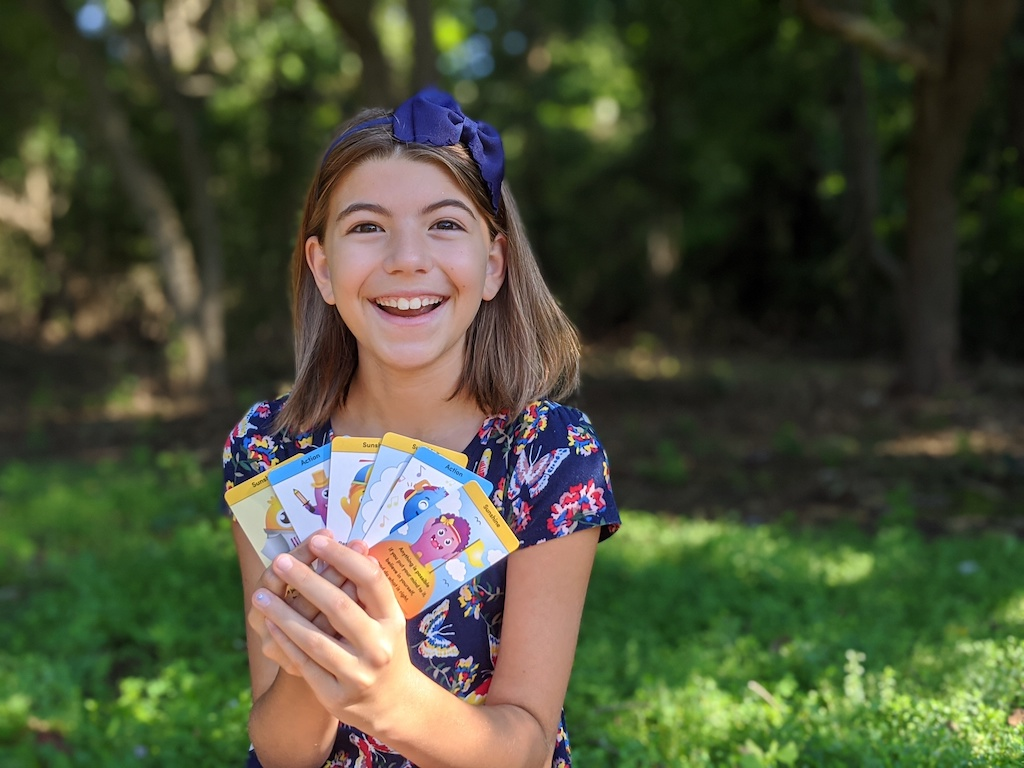 Tween Eva Goodrich Joins Bleuet Girl Entrepreneurship Program