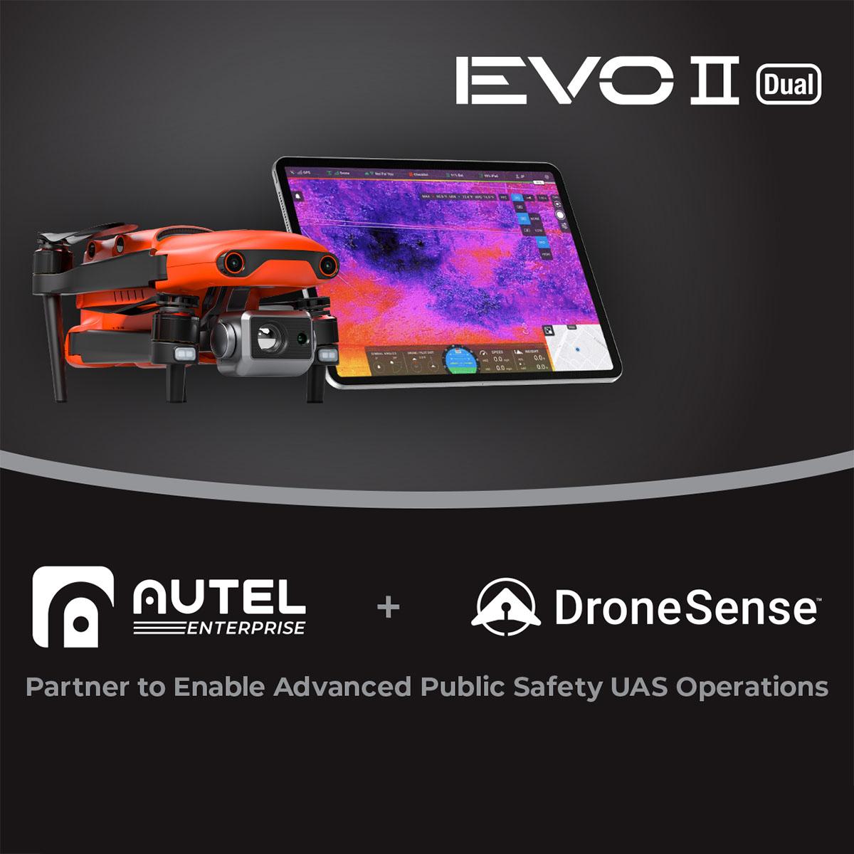 Autel Robotics and DroneSense Partner to Enable Advanced Public Safety UAS Operations