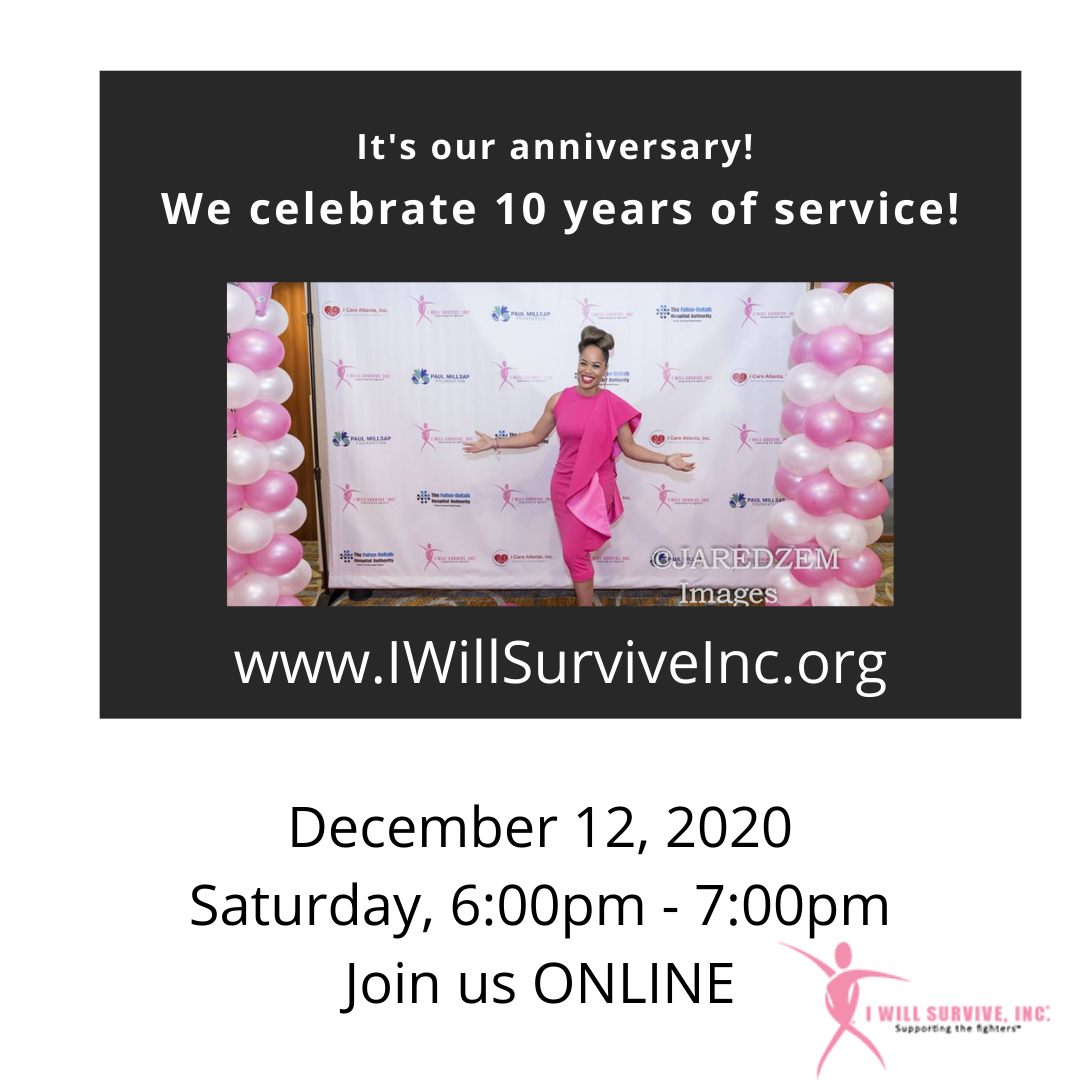 I Will Survive Celebrates 10 Years of Service